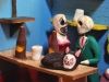 Day of the Dead skeleton figurines