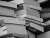 Stack of books in black and white. Photo by Georg Mayer/Flickr