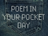 Poem in Your Pocket Day. Photo by andifansnet/Flickr. Adaption by Jen Rickard Blair.