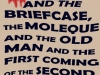 The Box and the Briefcase, the Moleque and the Old Man and the First Coming of the Second Son of God by John M. Keller