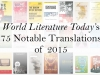 WLT's 75 Notable Translations 2015