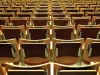 Classroom full of chairs