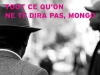 The cover to Tout ce qu'on ne te dira pas, Mongo by Dany Laferrière