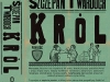The cover to Król by Szczepan Twardoch