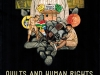 The cover to Quilts and Human Rights by Marsha MacDowell, Mary Worrall, Lynne Swanson & Beth Donaldson