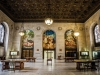 A triptych mural by local artist John Stephens Coppin graces the third floor of the Detroit Public Library.