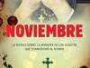 The cover to Noviembre by Jorge Galán