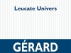 The cover to Leucate Univers by Gérard Gavarry