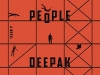 The cover to Temporary People by Deepak Unnikrishnan