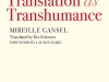 The cover to Translation as Transhumance by Mireille Gansel