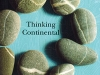 Cover to Thinking Continental: Writing the Planet One Place at a Time