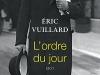 The cover to L'Ordre du jour by Éric Vuillard