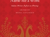 The cover to Name Me a Word: Indian Writers Reflect on Writing