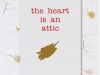 The cover to The Heart Is an Attic by Srivadya Sivakumar
