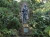 A garden surrounds the memorial to Celia Sánchez in Cuba