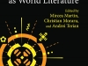 The cover to Romanian Literature as World Literature