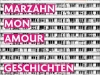 The cover to Marzahn, mon amour by Katja Oskamp