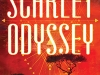 The cover to Scarlet Odyssey by C. T. Rwizi
