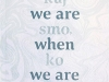 The cover to What We Are When We Are / Kaj Smo, Ko Smo by Cvetka Lipuš