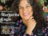 NSK Laureate Margarita Engle smiles at the camera. The cover to the Winter 2020 issue of WLT.