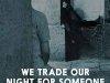 The cover to We Trade Our Night for Someone Else's Day by Ivana Bodrožić