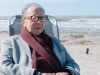 Ismail Kadare, maxing and relaxing by the seaside