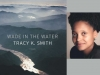 The cover to Tracy K. Smith's Wade in the Water juxtaposed against a photo of its author