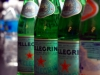 Bottles of San Pellegrino