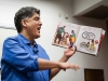 Sherman Alexie doing a lively reading of his children's book Thunder Boy Jr. on the ASU Tempe campus.