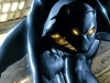 A detail from the cover to Black Panther Vol 3 #1; art by Mark Texeira and Joe Quesada