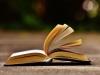 Open book on asphault