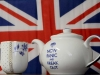 "Brexit tea pot with ""Now Panic and Freak Out"""