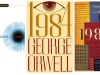 Book covers for George Orwell's book 1984