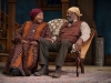 Jacqueline Williams (Aunt Ester) and Alfred H. Wilson (Solly Two Kings) in the 2015 Court Theatre production of Gem of the Ocean / Photo by Michael Brosilow