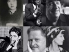 A collage of the six poets discussed below