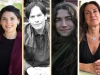 The winning translators and translated authors in a tiled image