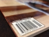 Barcode on an issue of WLT