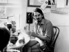 Robert Creeley (1972) / Photo by Elsa Dorfman