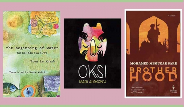 The covers to three of the books in the list below