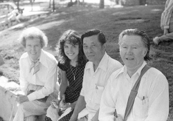 Dorothy Stafford, Kit Stafford, Hideo Hashimoto, and William Stafford
