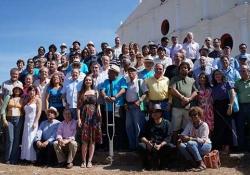 Poets attending the 2015 Festival Internacional de Poesía in Granada, Nicaragua. Photo: Arnulfo Agüero