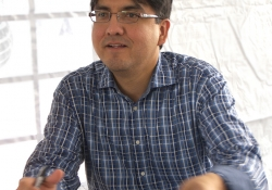 Sherman Alexie. Photo by Larry D. Moore. CC BY-SA 3.0
