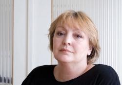 Dubravka Ugrešić. Photo by Judith Jockel.