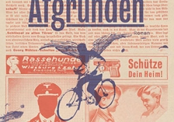 The cover to Afgrunden by Kim Leine
