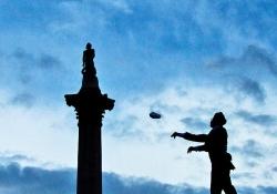 Chris Beckett, One & Other, by Antony Gormley, Trafalgar Square, London, 2009.