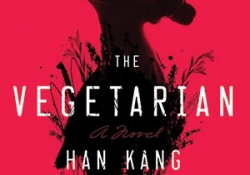 The cover to The Vegetarian by Han Kang