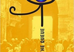 The cover to The Queue by Basma Abdel Aziz