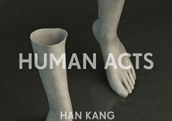 The cover to Human Acts by Han Kang