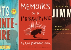 Three books by Alain Mabanckou