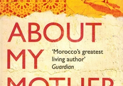 The cover to About My Mother by Tahar Ben Jelloun